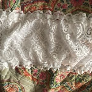NWOT Seamless and Lace Reversible Bandeau